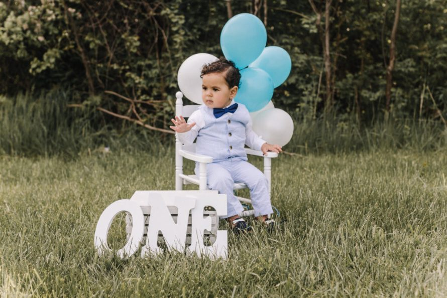 Photos from first birthday photoshoot turning one year old!