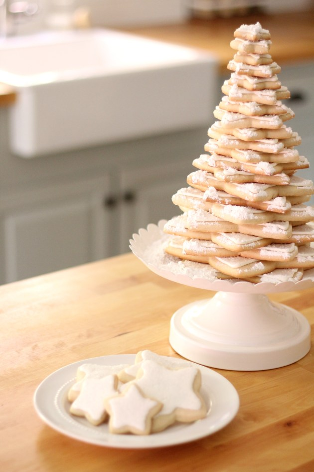 Easy Sugar Cookie Tree Sincerely Marie Designs