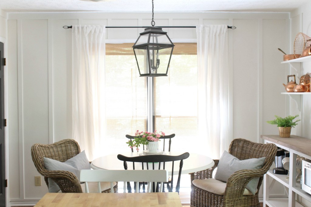 New Chairs in the Breakfast Nook & Wicker Chairs For Any Budget