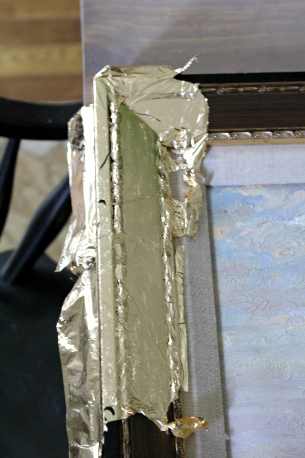 Gold Leafing How-To