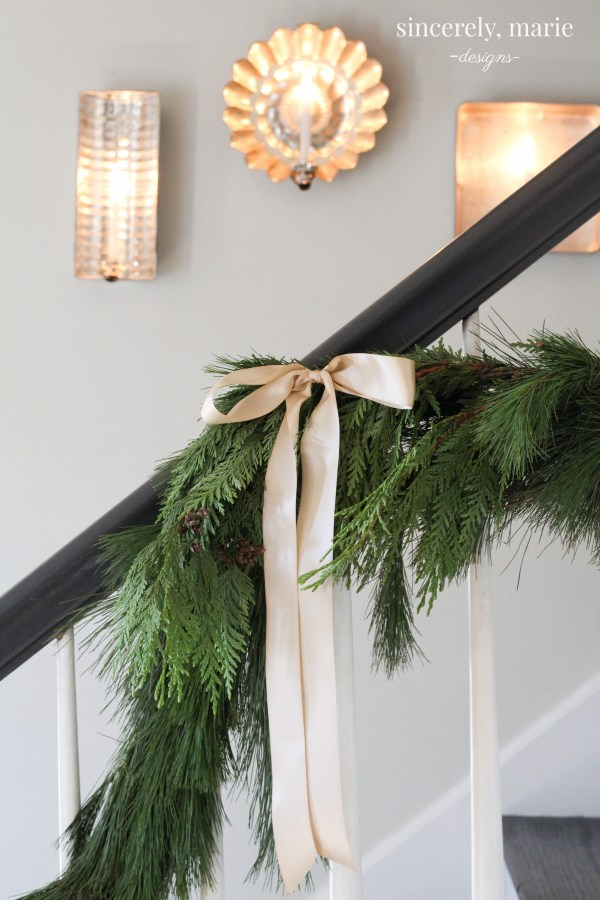 Christmas Foyer & Family Room + A Giveaway - Sincerely, Marie Designs