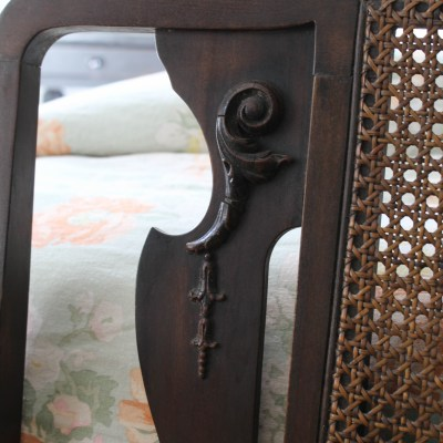 My Latest Find – An Antique Cane Bench