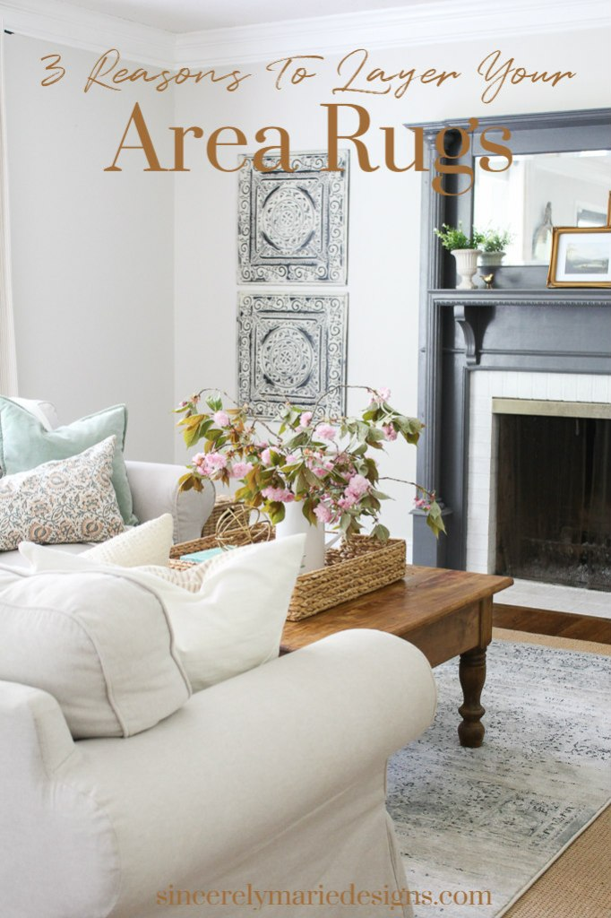 3 reasons to layer your area rugs