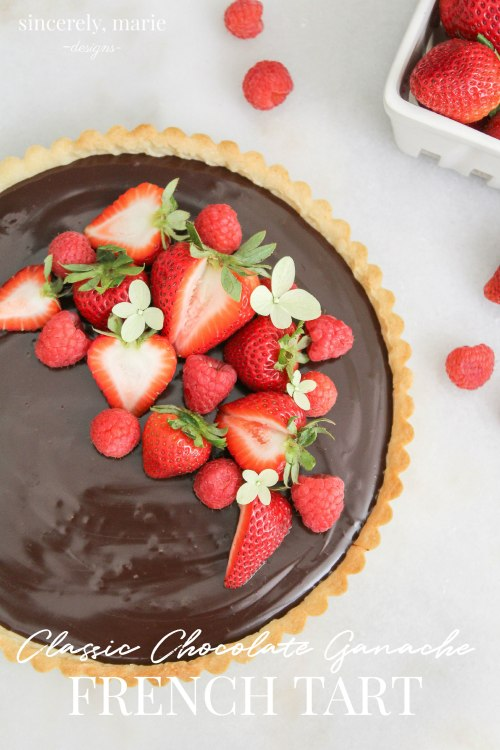 Chocolate Ganache French Tart