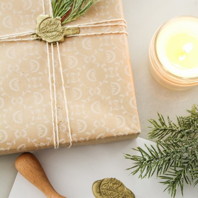 Gift Wrapping with Wax Seals