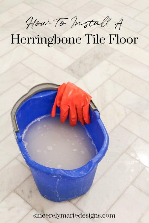 How To Install Herringbone Tile