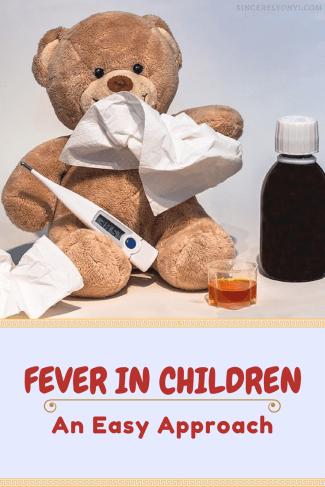 fever in infants, kids, children