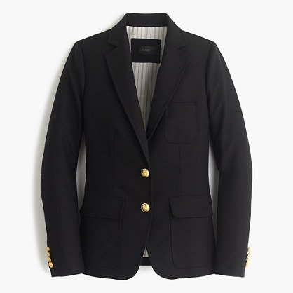 The perfect black blazer to throw over anything