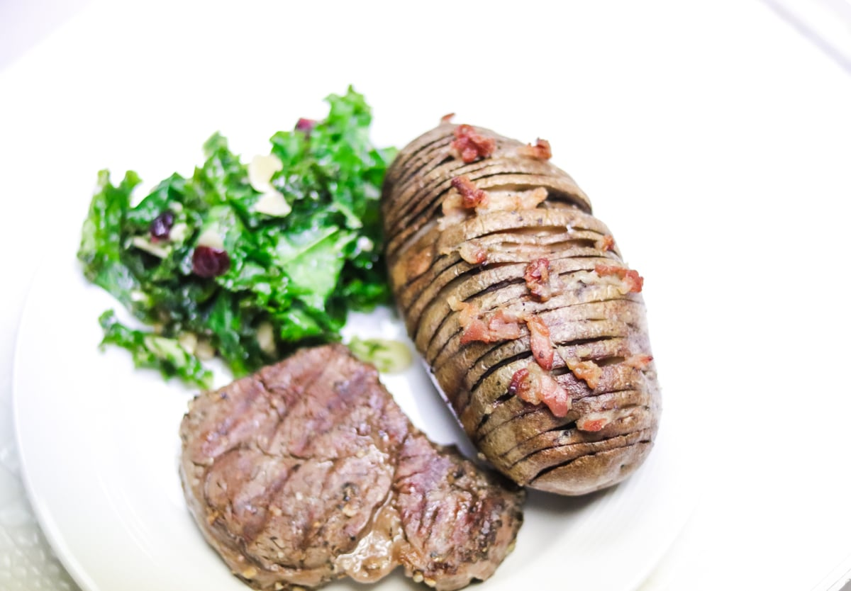 Bacon Hasselbeck Potatoe Recipe