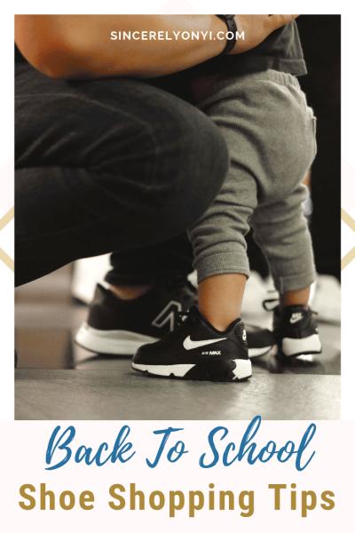 Back To School Shoe Shopping Tips