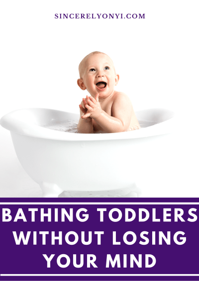 Bathing Toddlers Without Losing Your Mind