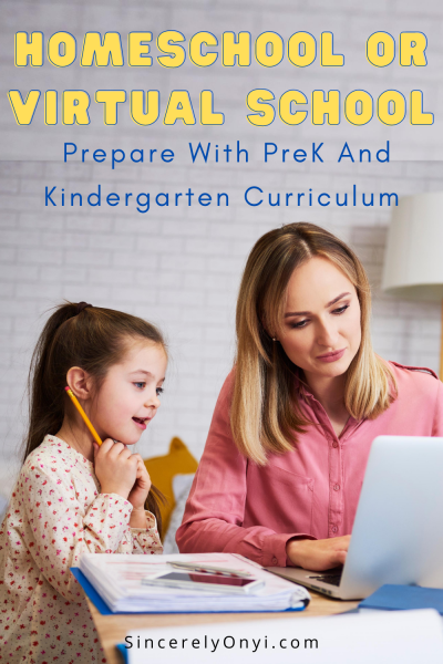 Homeschool Or Virtual School? Prepare With PreK And Kindergarten Curriculum