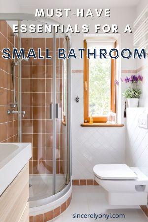 Must-Have Essentials For A Small Bathroom