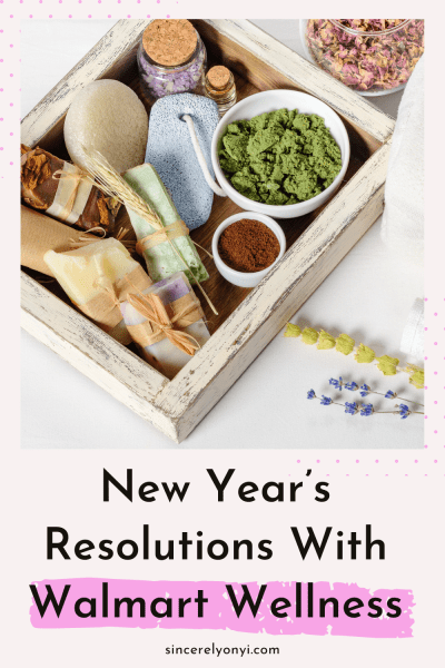 New Year's Resolutions With Walmart Wellness