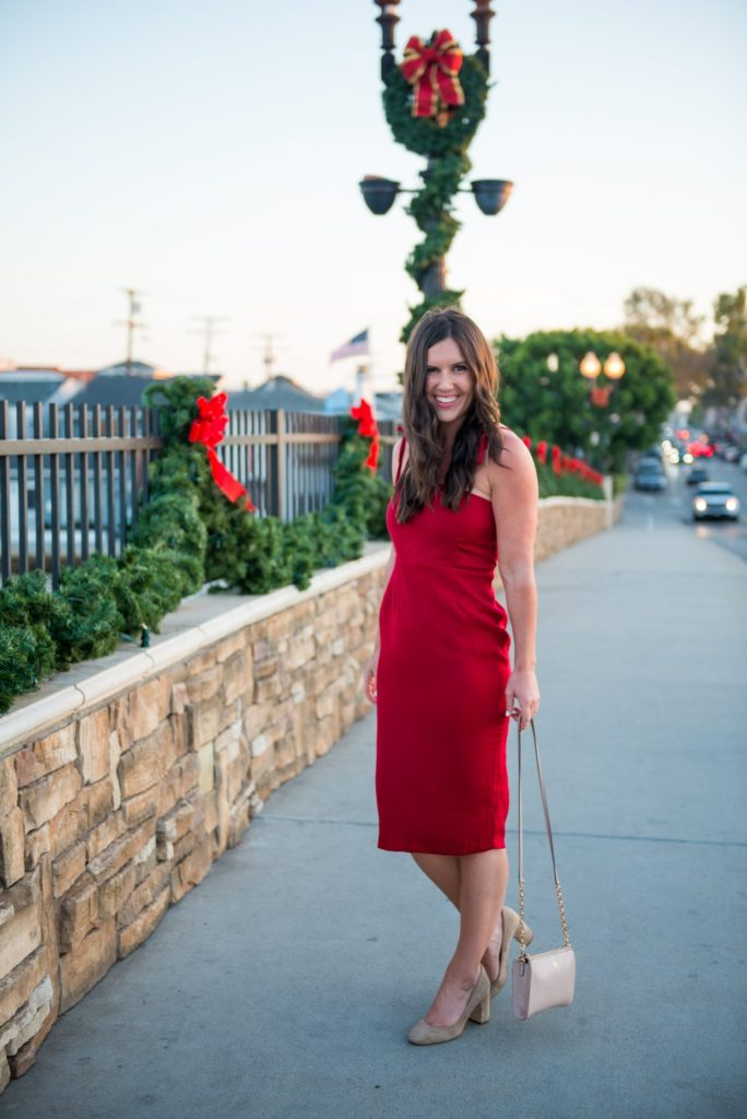 Your Guide To Holiday Festivities In Newport Beach (& Holiday Dresses For Cheap!)