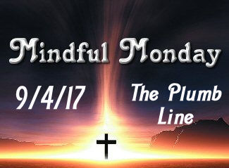Mindful Monday Devotional - The Plumb Line