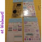 """Creative You"" Planner products at Walmart"