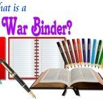 What is a War Binder?