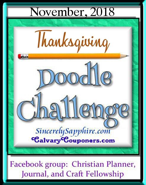 November 2018 Doodle Challenge