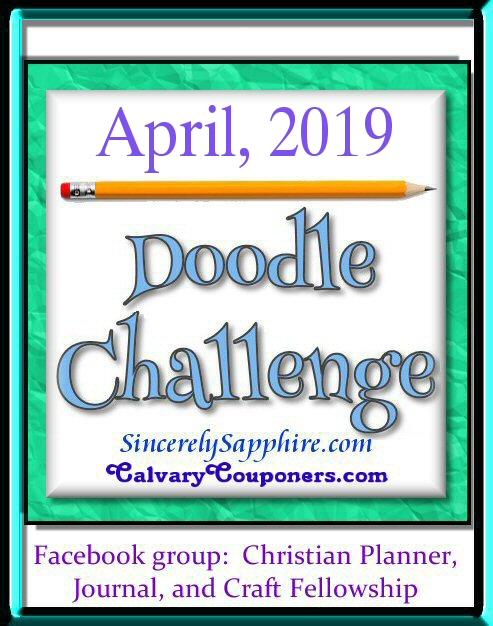 April 2019 Doodle Challenge