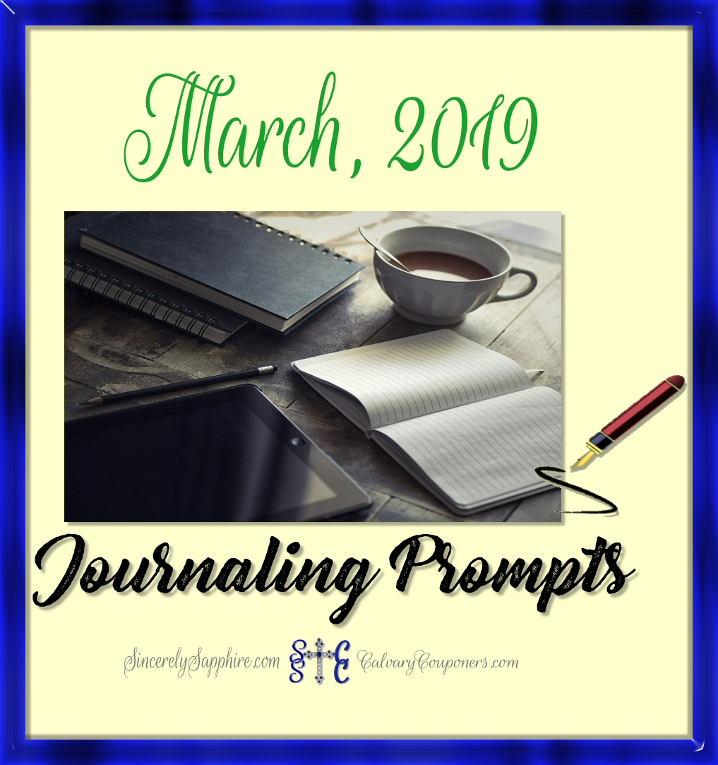 Our First Monthly Journaling Prompt Plan!
