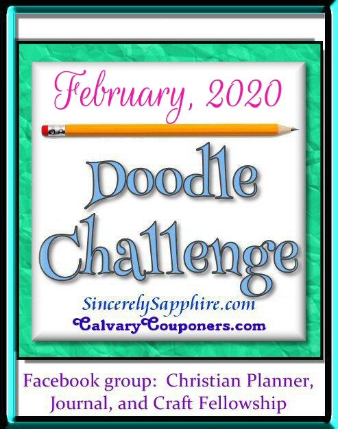 February 2020 doodle challenge