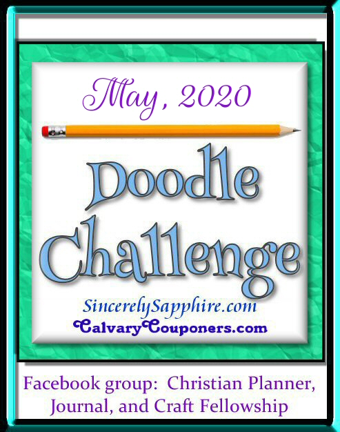 May 2020 Doodle challenge header
