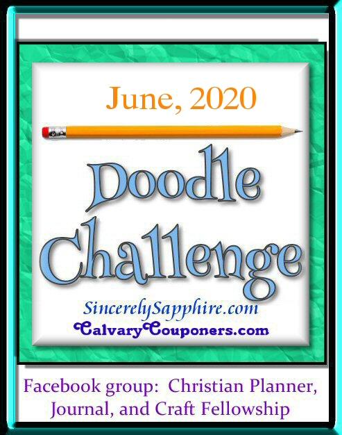 June 2020 doodle challenge header