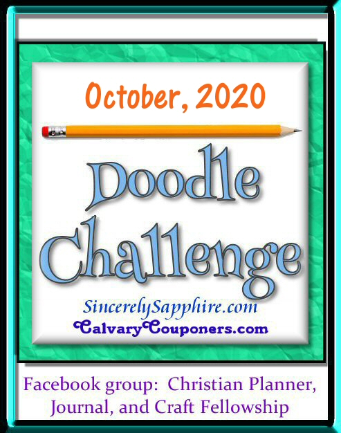 October 2020 Doodle Challenge header
