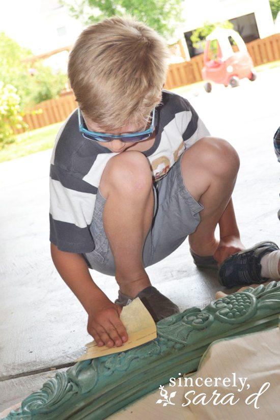 Little Sanding Helper