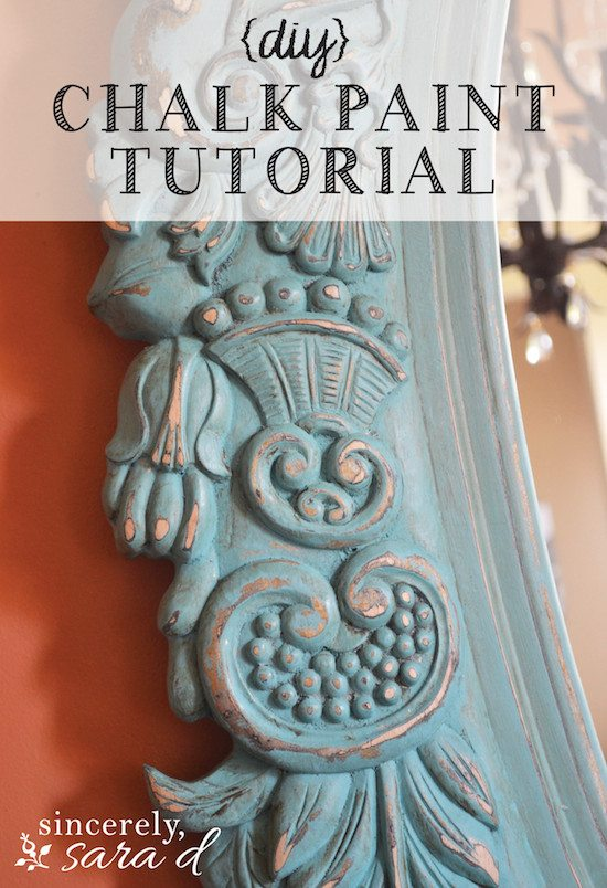 Chalk Painting Tutorial | Painting a Mirror