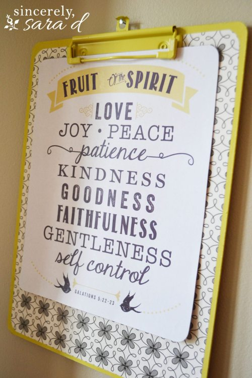Fruit of the Spirit (6)