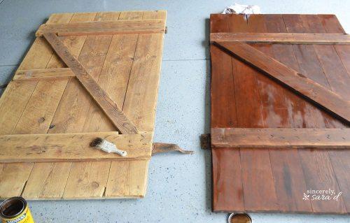 Barn Door Headboard 5