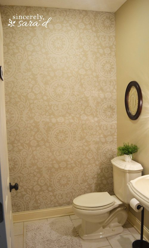 Starched Fabric Wall