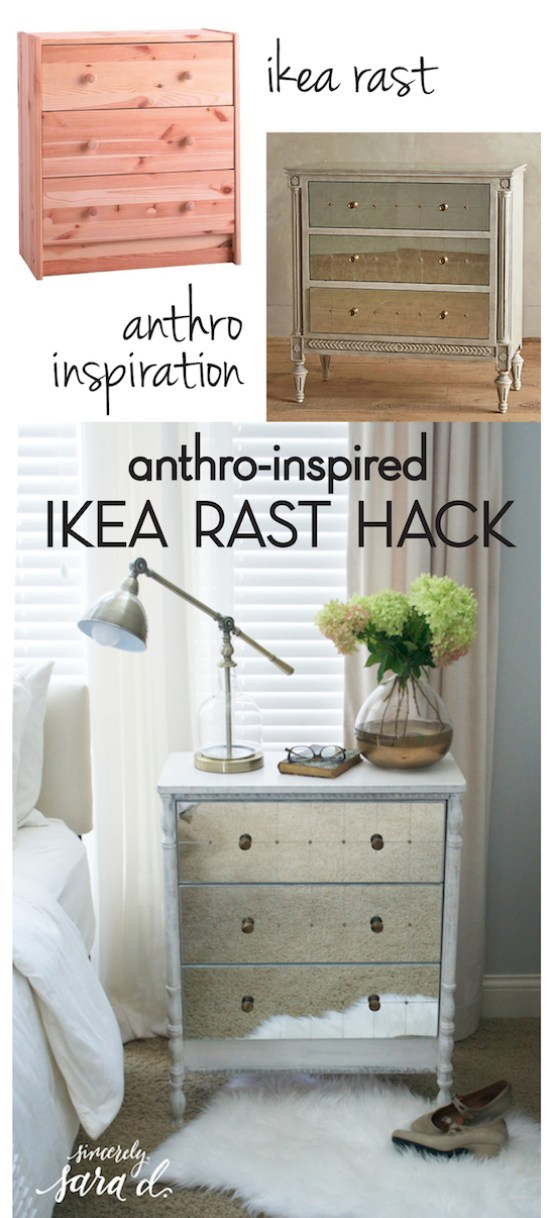 Anthro Inspired Ikea Rast Hack