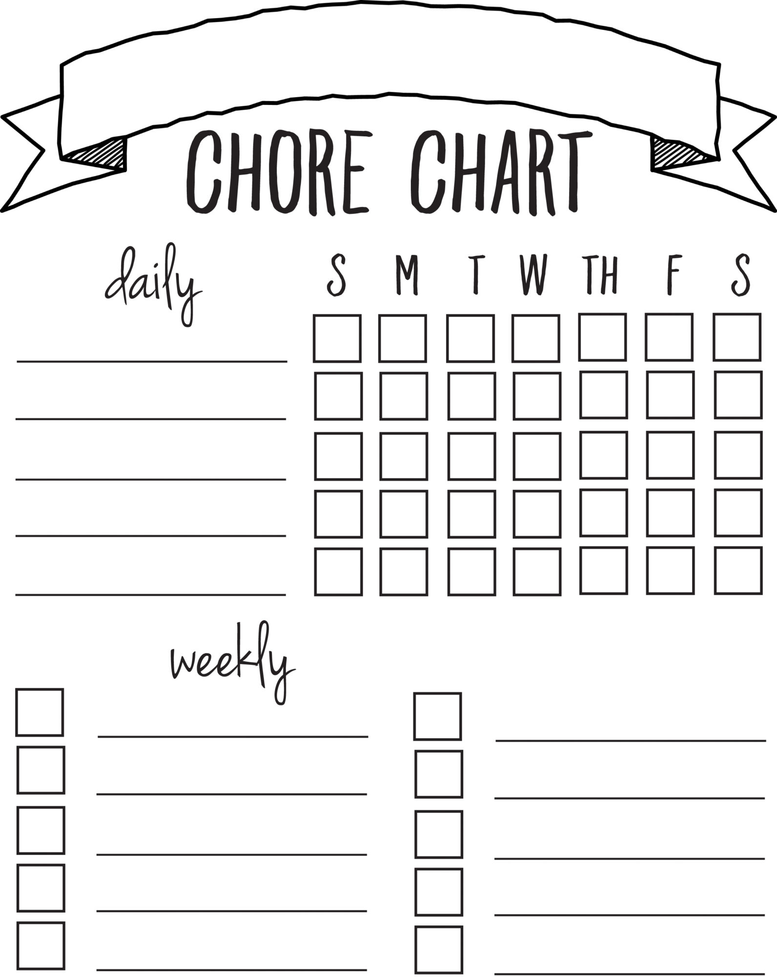 t chart word – T-charts Template