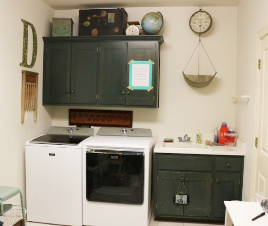 Laundry Room - BEFORE