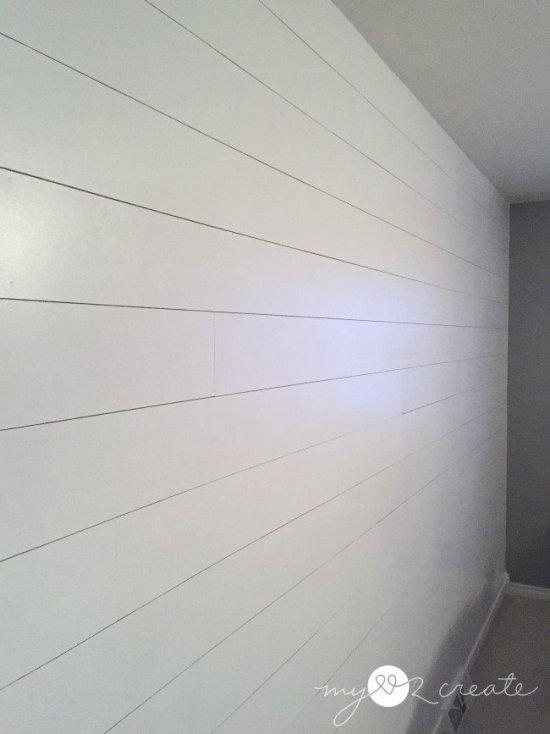 long shot of plank wall, MyLove2Create