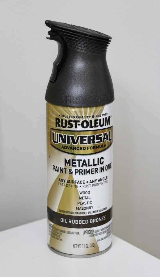 Rustoleum Oil Rubbed Bronze Spray Paint