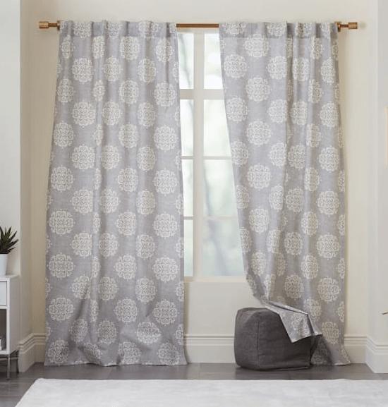 West Elm Curtain Panels