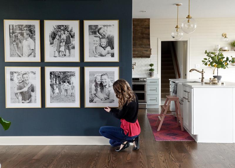 Easy Photo Wall Gallery Ideas
