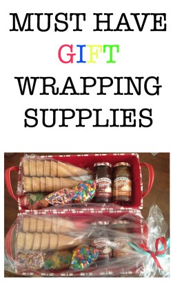 Must have gift wrapping supplies