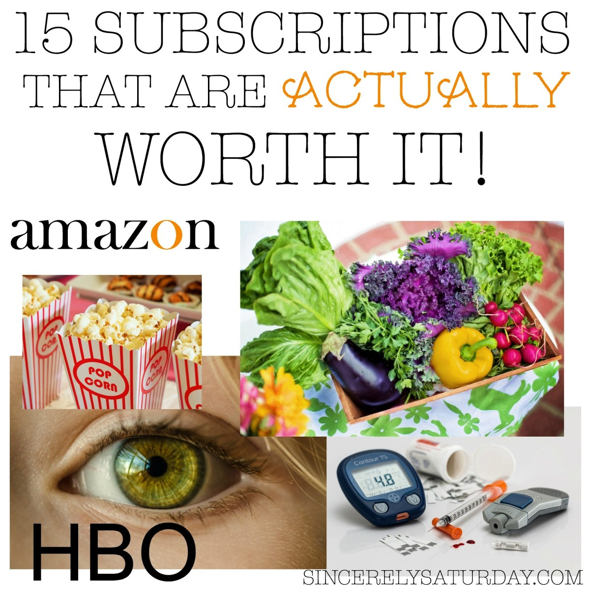 15 SUBSCRIPTIONS THAT ARE ACTUALLY WORTH IT!