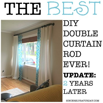 The best double curtain rod - 2 years later