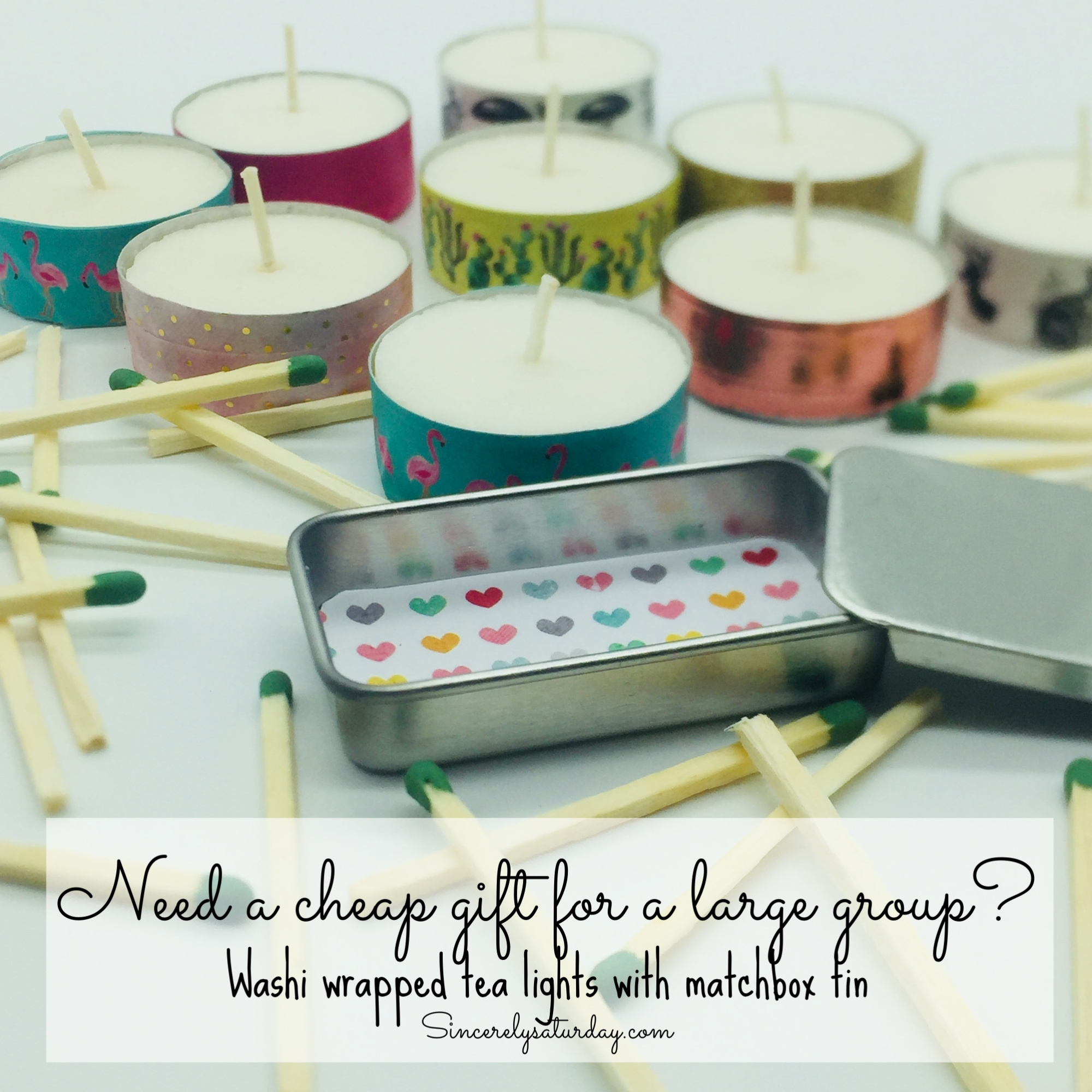 Affordable gifts for large groups