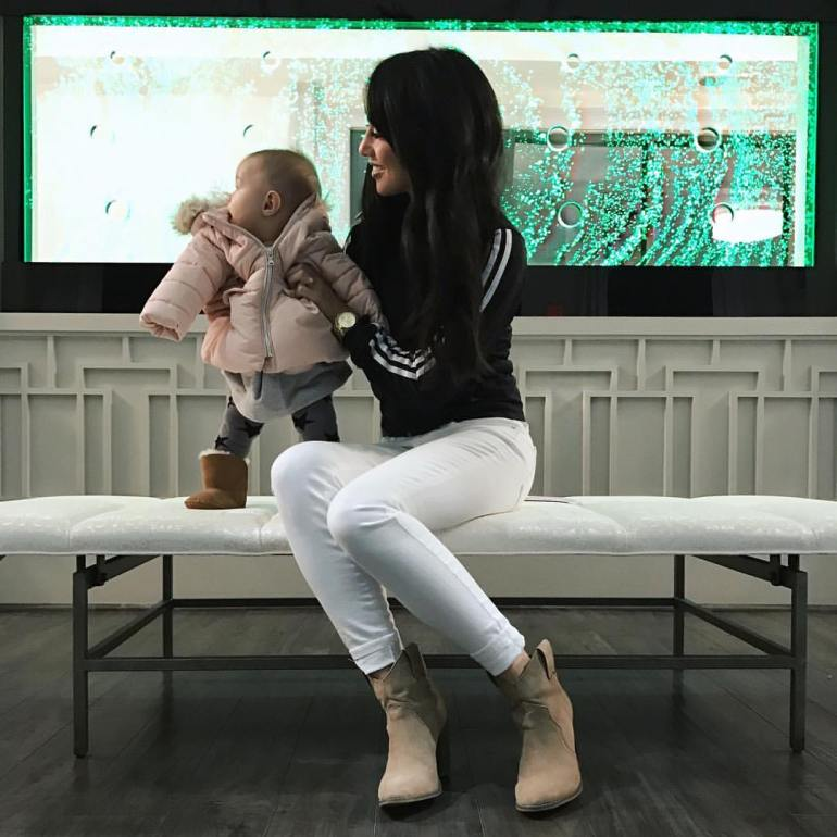 adidas jacket and wardrobe essential white jeans and ankle boots