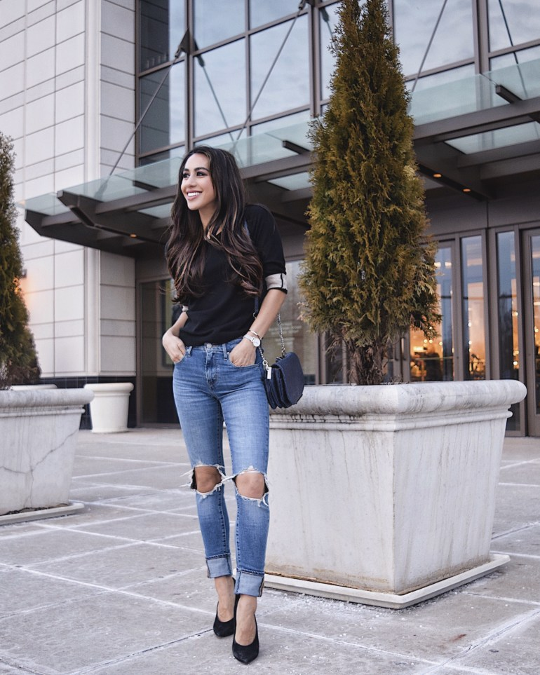 sincerely-styled-brittany-seiden-back-to-basics-ripped-jeans-sweater-heels