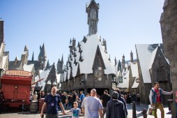 Entering The Wizarding World of Harry Potter