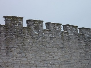 and battlements