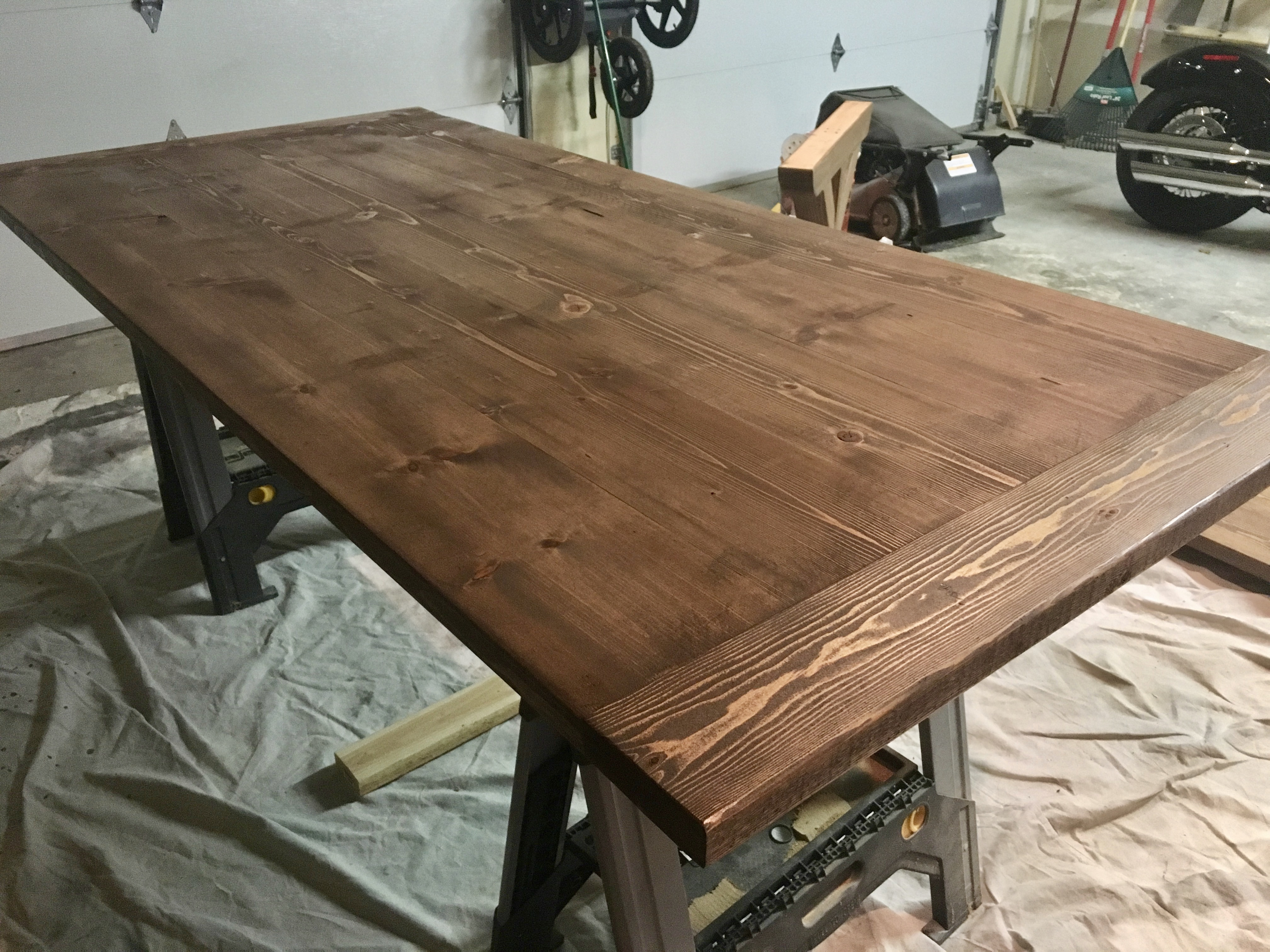 X Brace Farmhouse Dining Table Sincerely The Smiths